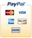 paypal and credit card images