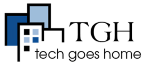 Tech goes home logo