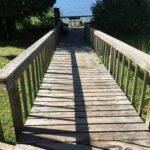 bridge to access viewing area